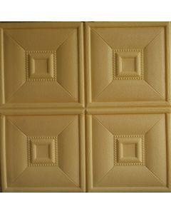 ورق حائط فوم ثلاثي الابعاد جلد اصفر