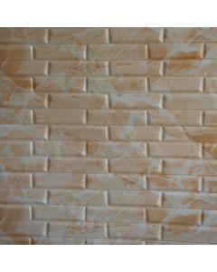 ورق حائط فوم ثلاثي الابعاد سيموني مائل