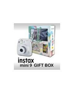 Fujifilm Instax Mini 9 (Gift Box) smoky white