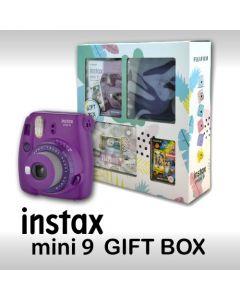 Fujifilm Instax Mini 9 (Gift Box) Purple