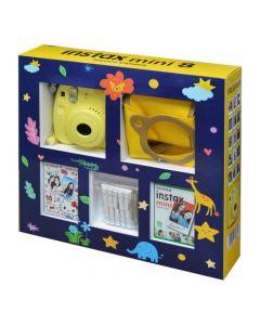Fujifilm Instax Mini 8 Camera - Gift Box Yellow