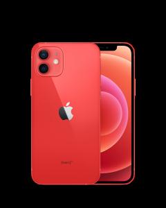 iPhone 12, Dual SIM, 128 GB, Red - MGJD3