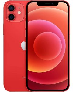 ابل ايفون 12 - 256 جيجابيت - أحمر - بضمان محلي سنة - MGJJ3AA/A