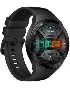 ساعة هواوي جي تي 2 اصدار رياضي، 46 مم، اسود مطفي