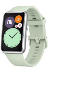 ساعة سمارت 1.64 بوصة مقاومة للماء بشاشة اموليد تعمل باللمس فيت من هواوي - اخضر مينت