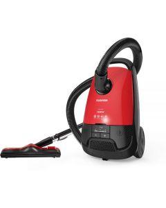 مكنسة كهربائية من توشيبا VC-EA1800SE – احمر واسود، 1800 وات