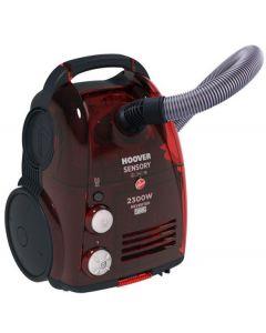 مكنسة كهربائية هوفر 2000 وات لون أسود و أحمر مزودة بفرشاة للسجاد و الأرضيات TCP2010020