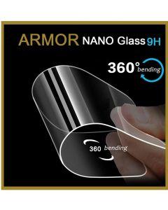 لاصقة نانو ارمور زجاجية ضد الصدمات (لموبايل موديل Nokia 5.1 Plus) - 334569443