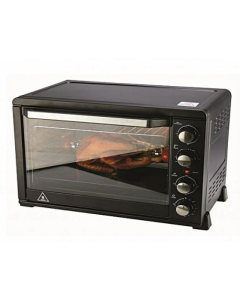 Nouval Electric Oven With Grill Chief 50 Liter Black