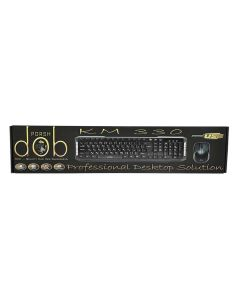 لوحة مفاتيح مع ماوس بورش من دوب يو اس بي  - KM 330