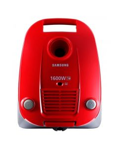 Samsung Canister Vacuum Cleaner, 1600 Watt, Red - VCC4130S37/EGT