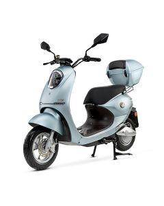 YADEA Electric Scooter, 1200 Watt, Blue Matte