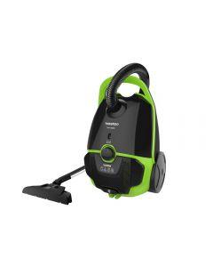 TORNADO Vacuum Cleaner 1600 Watt In Black x Green Or Black x Orange With HEPA Filter TVC-1600M