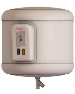 Tornado Electric Water Heater, 35 Liters, Off White - EHA-35TSM-F