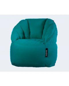 Luxury Fabric Bean Chair Turquiose