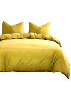 Quilt cover, Plain Yellow 220* 240 cm